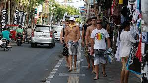 Bali Tourists